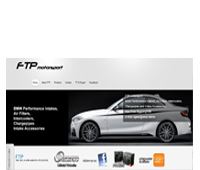 FTP Motorsport Website